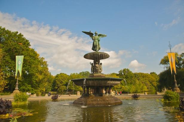 Bethesda Fountain, Oct 2009 - 03