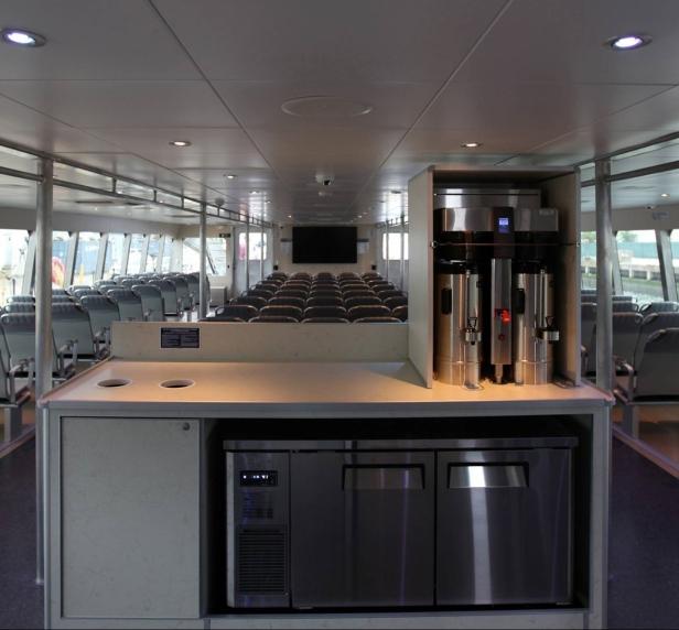 Ferry cafeteria