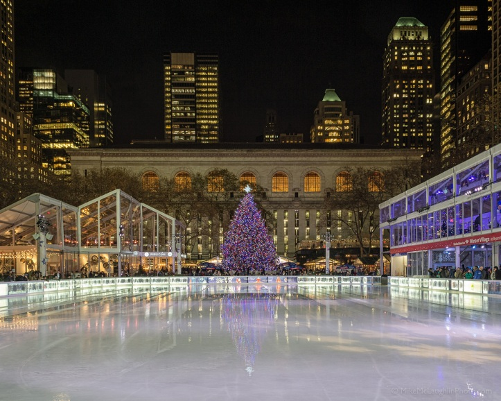Bryant Park Navidad