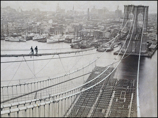 Puente de Brooklyn 1880