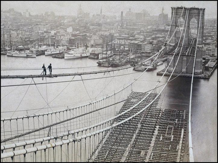 Puente de Brooklyn 1880