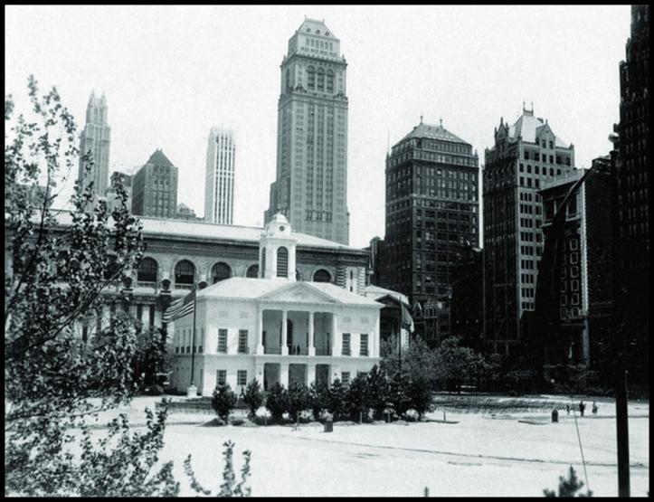 Federal Hall Bryant Park