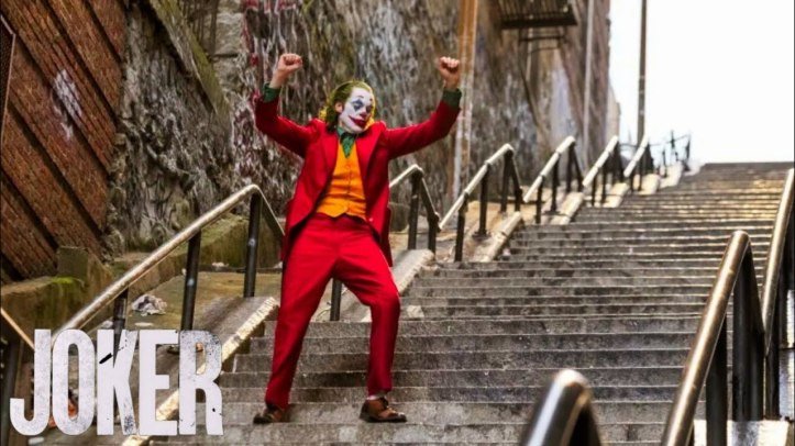 Joker escaleras