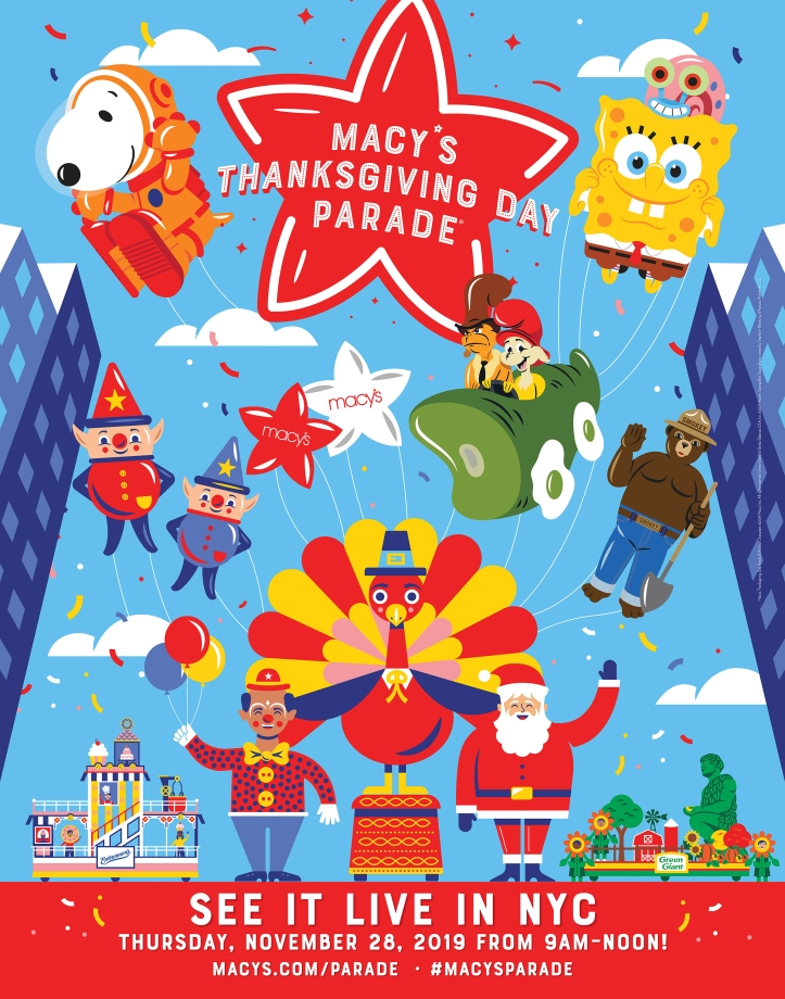 2019-Macys-Thanksgiving-Day-Parade-poster
