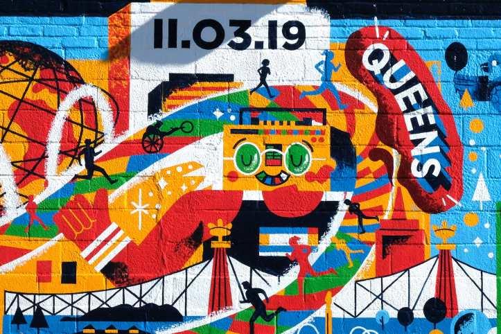 mural maratón