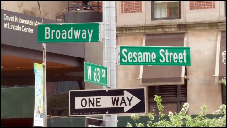 Sesame Street nyc