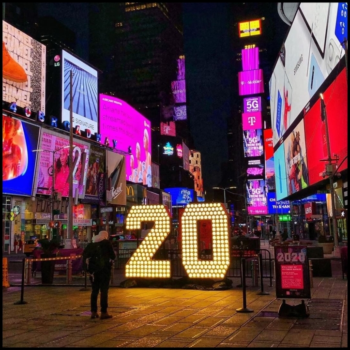 Times Square 2020