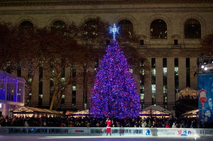 Tree-Lighting Bryant Park